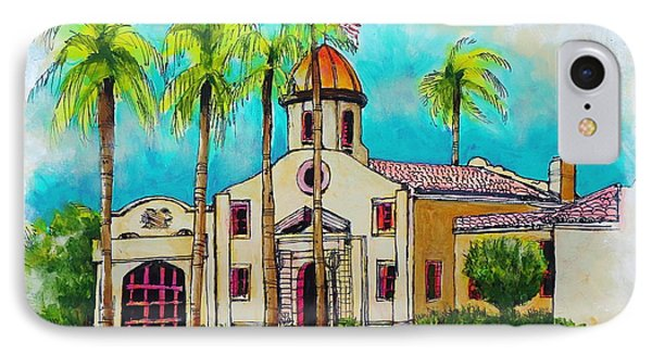 Old Boca Raton City Hall IPhone Case