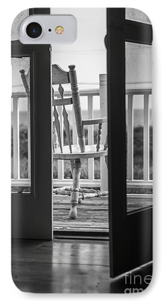Old Chair At The Beach House IPhone Case