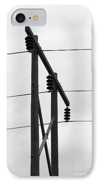 Old Country Power Line IPhone Case