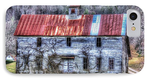Old Country Schoolhouse IPhone Case