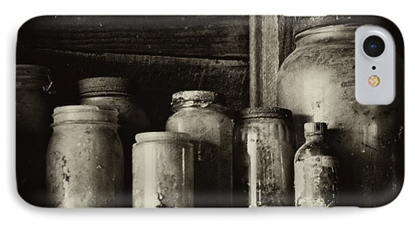Old Dusty Jars IPhone Case