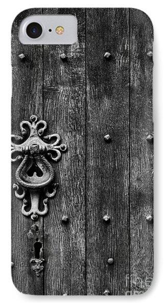 Old English Church Door Handle IPhone Case