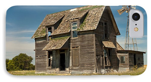 Old Farm House, Kansas IPhone Case