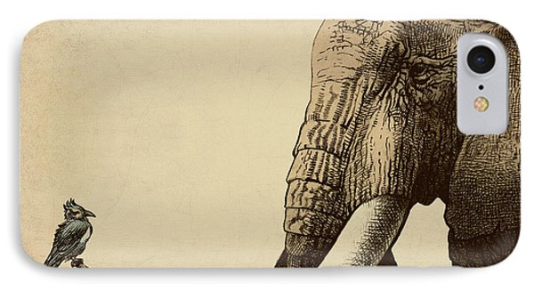 Africa iPhone 8 Case - Old Friend by Eric Fan