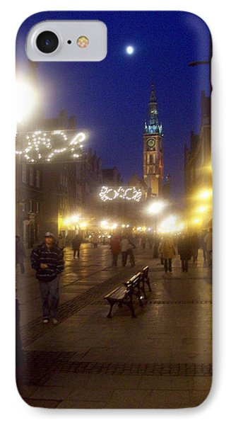 Old Gdansk Shops IPhone Case