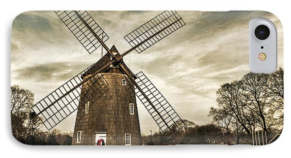 Old Hook Windmill IPhone Case