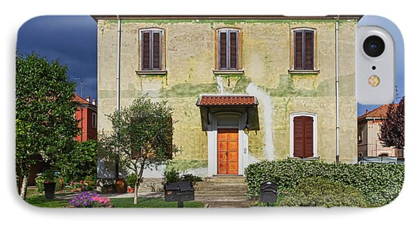 Old House In Crespi D'adda IPhone Case