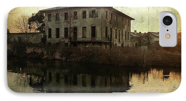 Old House On Canal IPhone Case