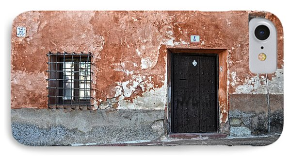 Old House Over Cobbled Ground IPhone Case