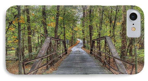 Old Iron Bridge At Panther Creek IPhone Case