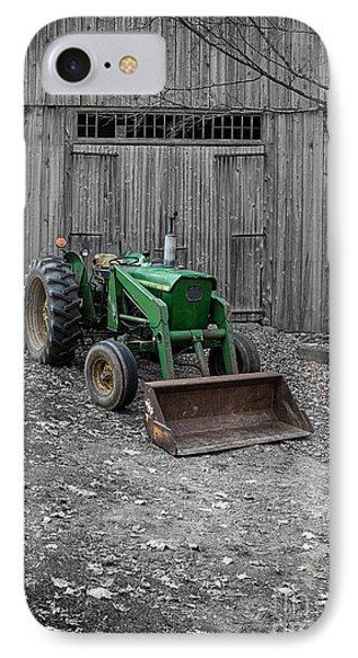 Old John Deere Tractor IPhone Case