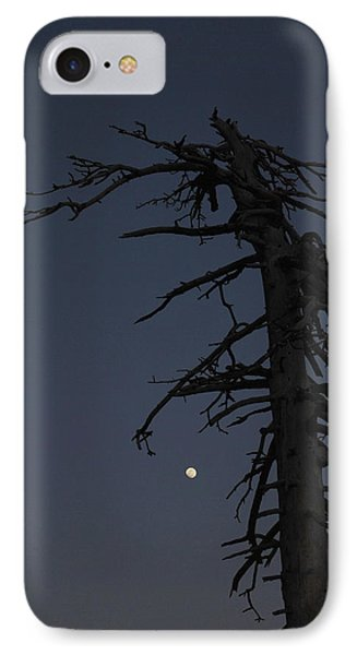 Old Man And Moon IPhone Case