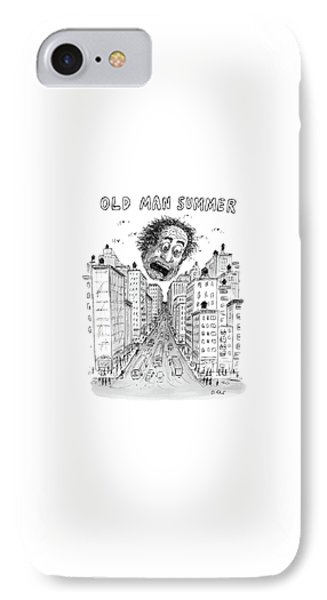 Old Man Summer IPhone Case