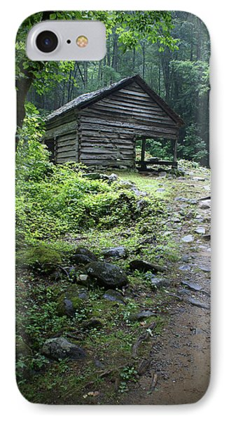 Old Mountain Cabin IPhone Case