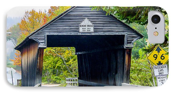 Old New Hampshire Bridge IPhone Case