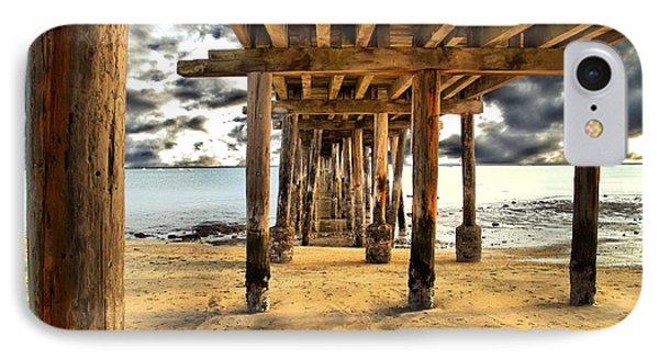 Old Pillar Point Pier IPhone Case