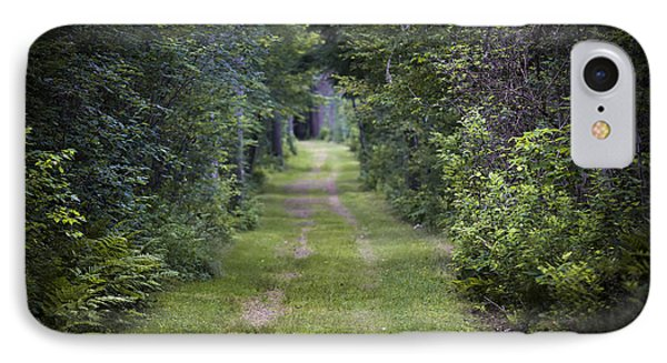 Old Road Through Forest IPhone Case