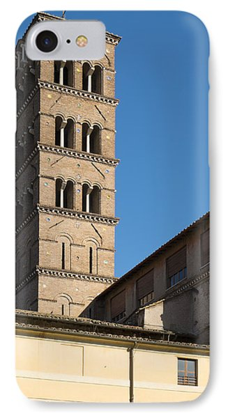 Old Rome Bell Tower IPhone Case