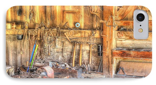 Old Rustic Workshop IPhone Case