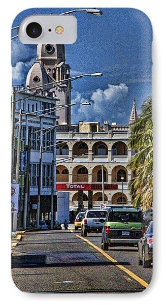 Old San Juan Cityscape IPhone Case