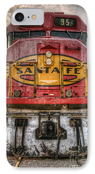 Old Santa Fe Engine IPhone Case