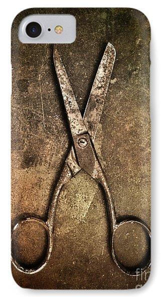 Old Scissors IPhone Case