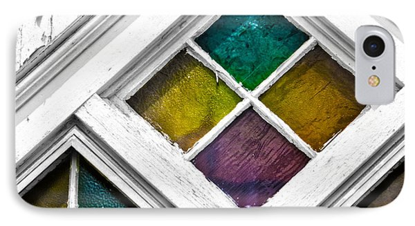 Old Stained Glass Windows IPhone Case