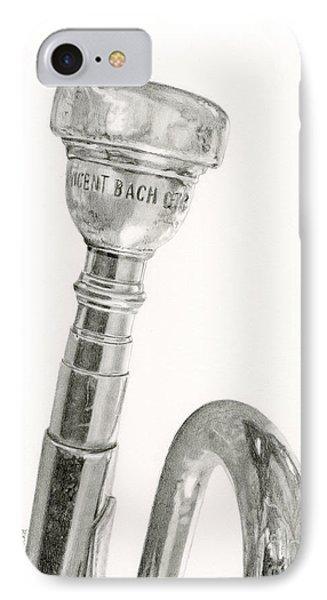 Old Trumpet IPhone Case