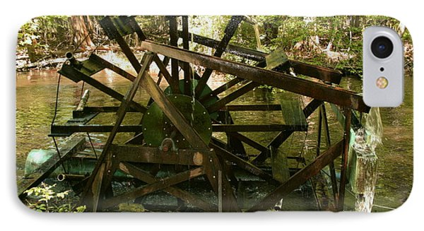 Old Waterwheel IPhone Case
