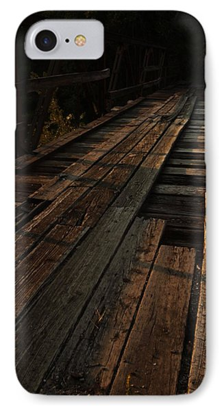 Old Wooden Bridge IPhone Case