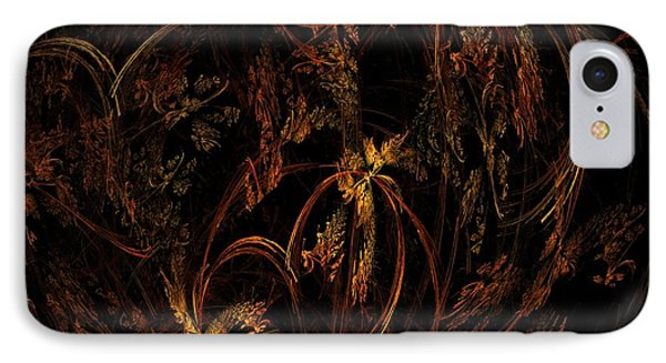 Old World Floral IPhone Case
