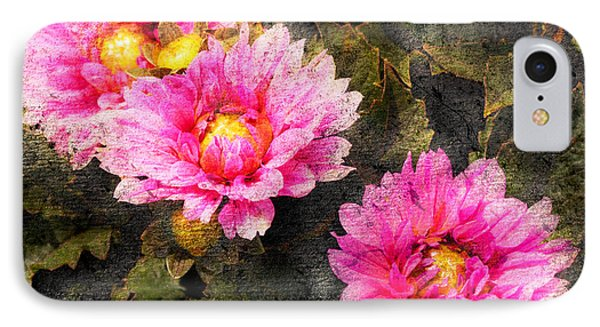 Old World Flowers IPhone Case