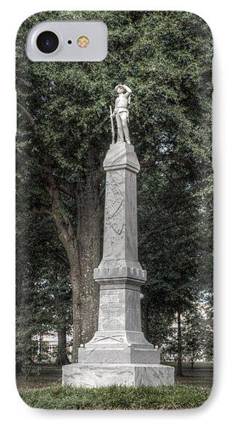 Ole Miss Confederate Statue IPhone Case