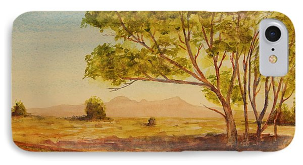 On The Road To Broken Hill Nsw Australia IPhone Case