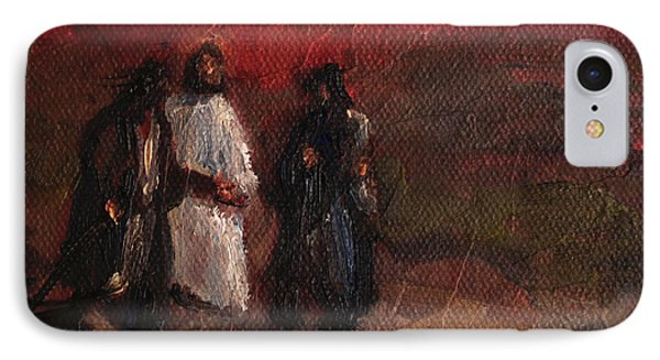On The Road To Emmaus IPhone Case
