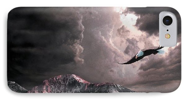 On Wings Of Eagles IPhone Case
