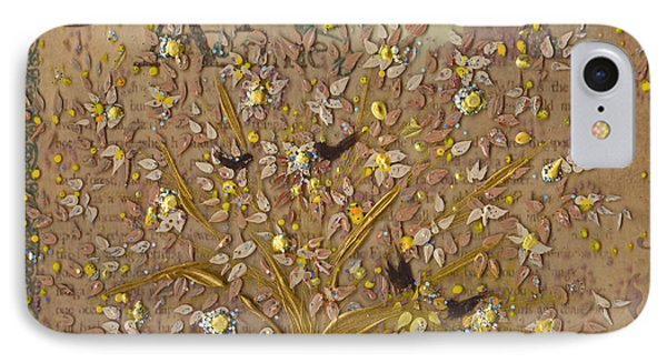 Once Upon A Golden Garden By Jrr IPhone Case