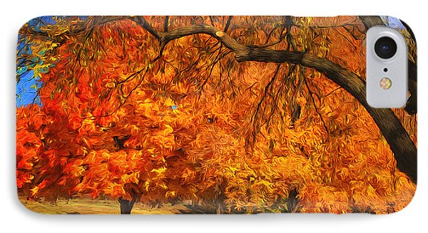 One Autumn Day IPhone Case