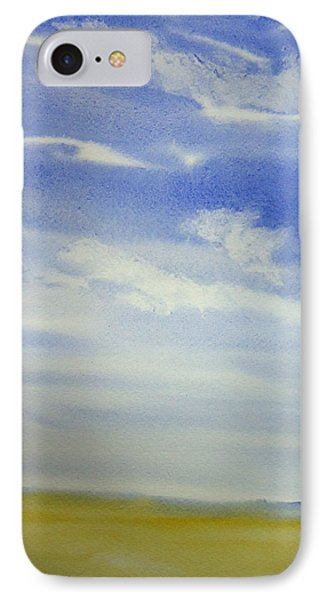 One Color Sky IPhone Case