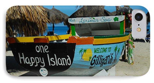 One Happy Island IPhone Case
