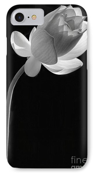 One Lotus Bud IPhone Case