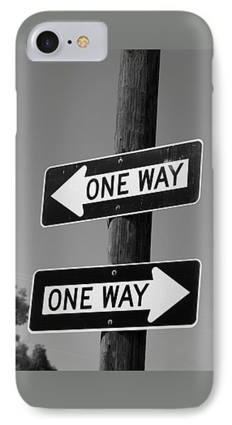 One Way Or Another - Confusing Road Signs IPhone Case