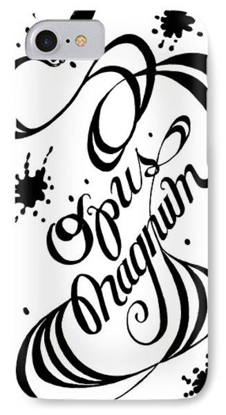 Opus Magnum IPhone Case