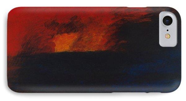 Orange 1985 IPhone Case