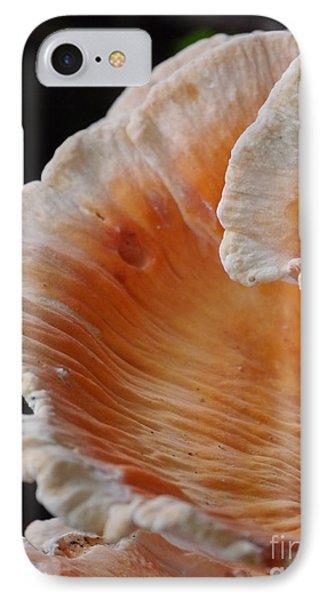 Orange And White Fungi IPhone Case