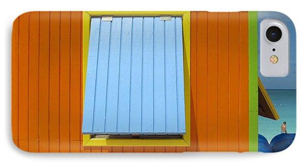 Orange Cabin IPhone Case