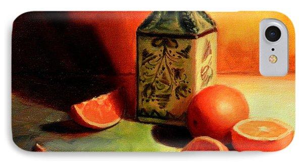 Orange Temptation IPhone Case