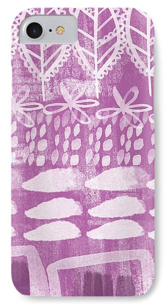 Orchid iPhone 8 Case - Orchid Fields by Linda Woods