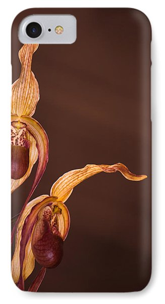 Orchid Greeting IPhone Case