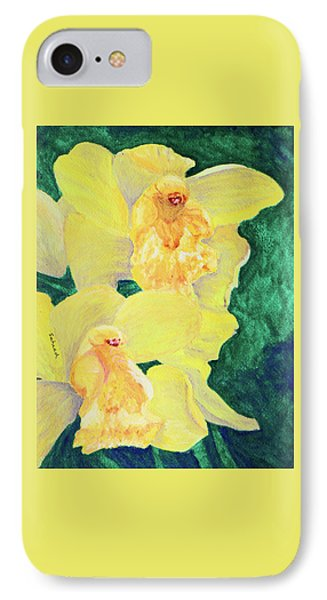 Orchid Yellow IPhone Case